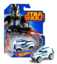 Hot Wheels Star Wars 501st Clone Trooper Character Cars New in Package - $9.88