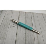Vintage Foley Easy Twist Jar Opener Removes All Screw Caps Turquoise Teal - $18.99