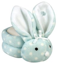 Stephan Baby Boo Bunnie Comfort Toy and Boo Cube, Baby Boy Polka Dot image 12