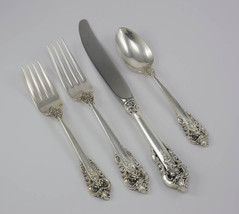 Grande Baroque by Wallace Sterling Modern Regular 4 Piece Set - No Monogram - $183.00