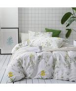 Wake In Cloud Duvet Cover Set, Queen, Floral Pattern (KM) - $16.15