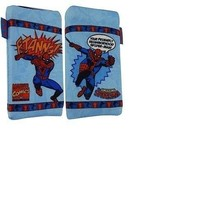 Marvel Comics Spiderman Phone Sock blue Pouch Case  image 2