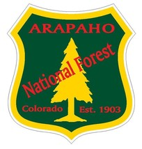 Arapaho National Forest Sticker R3199 Colorado - $1.45+