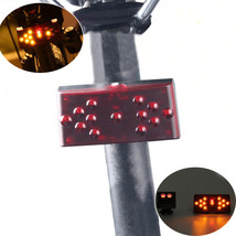 Xanes STL06 Cob Led Wireless Remote Control Smart Bike Tail Light Usb Charging W - $28.40