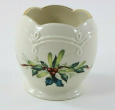 Lenox WINTER GREETINGS Candle Holder 3.5inch - $20.85