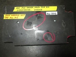 11 Mini Cooper Panel Fuse Box #61353455438,3455438 *See Item* - $84.27