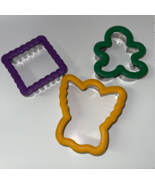 Wilton Comfort Grip Cookie Cutter Square Crinkle Angel Gingerbread Man Lot  - $54.99