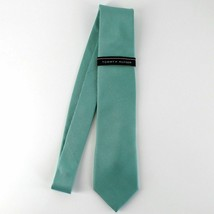 Tommy Hilfiger Men's Classic Neat Silk Tie Green - $64.35