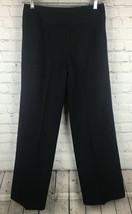 Ann Klein Suits Women's 2 Dress Pants Cropped Black - $9.50