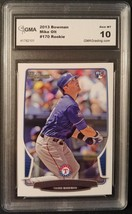 Mike Olt 2013 Bowman #170 Graded GMA 10 Texas Rangers White Sox Sports C... - $0.94