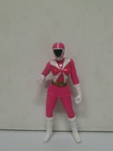 Pink Mc Donalds Mighty Morphin Power Ranger 4 Inches, 2000 - $10.23