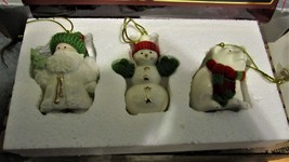 Lenox - Christmas Tree Ornaments set 0f 3 by Lenox Ornaments - $20.00