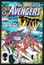 The Mighty AVENGERS #247 Marvel Comics 1984 Stern Milrom Sinnott UNIMIND - $3.47