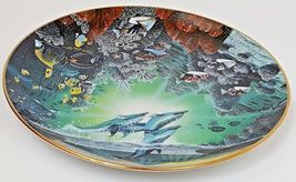 Honolua Bay Of Piilani Underwater Paradise Danbury Mint Plate Robert Lyn Nelson image 3