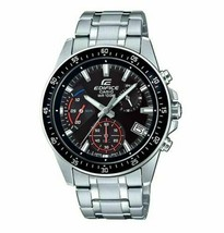 Casio Edifice Neo Display EFV-540D-1AV Men's Chronograph Black Dial Watch - $95.00