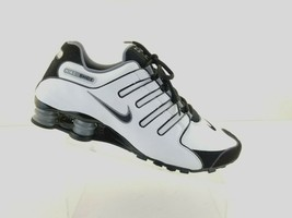Nike Shox NZ Mens  378341-101  Black White Size 12 M - $79.11