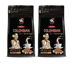100% Pure Colombian - Freeze Dried Colombian Deluxe Instant Coffee - Rich And Fl - $19.55