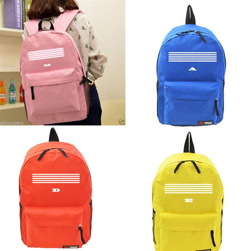 Kpop Bigbang G-Drangon Schoolbag MADE Concert Unisex Backpack G-D Travel Bag for sale  USA
