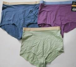 3 Pack Vanity Fair Soft Essentials Brief Panties Nylon Spandex MIX Color... - $19.95