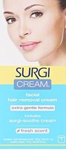 Surgi-cream Hair Remover Extra Gentle Formula For Face, 1-Ounce Tubes Pack of 3 image 2