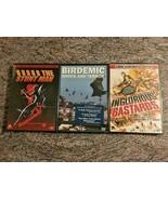 3 Severin Films DVD Lot! 6 Discs! Stunt Man, Birdemic, Ingloroious Basta... - $19.99