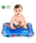 vicrays Inflatable Tummy Time Water Mat, Premium Baby Water Mat for Infa... - $11.34