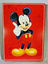 Mickey Mouse Jumbo Playing Cards Complete Plus One Joker Disney Disneyana - $8.86