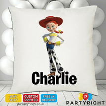 Personalised Toy Story Jessie Cushion Cover • Unique Gift • Your Name - $9.68