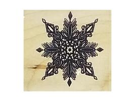 Snowflake Rubber Stamps, Set of 2 image 3
