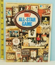 1987 Major League Baseball All-Star Game Official Program - $5.89