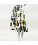 "Olympia Le-Tan NWT Multicolor Printed ""Frida Collector"" Full Midi Skirt ... - $505.00"