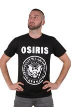 Osiris Hombre Bowery Pantalón Camiseta Gráfica Negro Nwt image 1