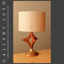 MID CENTURY DANISH MODERN WALNUT TABLE LAMP! Eames 50s Vtg Hans Wegner S... - €1.000,92 EUR