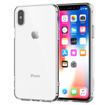 iPhone X Clear Case TPU Rubber Silicone Transparent Shock-Proof - $5.97