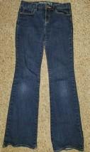 GAP KIDS 1969 Classic Bootcut Denim Jeans Girls Size 12 Adjustable Waist - $4.88