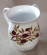 Judaica Hand Wash Cup Netilat Yadayim Natla White Stainless Steel Pomegranates image 1