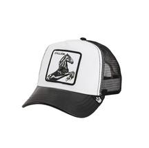 Goorin Bros Snapback Mesh Cap Animal Farm White Great Stallion Trucker Hat image 1