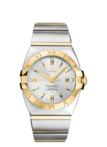 Omega Constellation Double Eagle 18K Gold/Stainless Automatic Watch 12013000 - $3,762.00