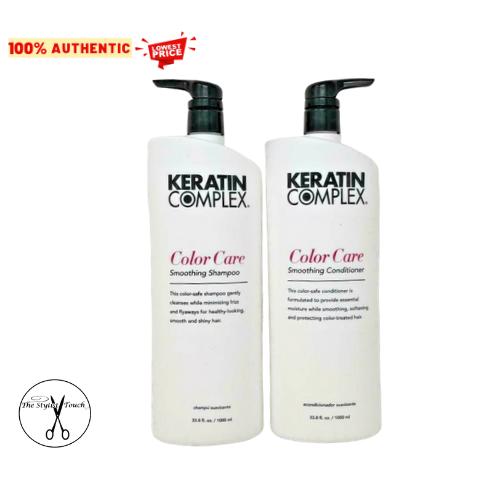 Keratin Complex Color Care Shampoo and Conditioner 33.8 oz / 1 Liter - NEW - $58.49