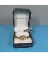 Anne Klein II Deep Gold Toned Oval Face Watch New in Box w/ Tag - $21.33