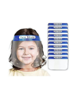 2 PACK Kids Boys Girls Face Shield Reusable Washable Safety Clear Anti Fog Mask - $8.18