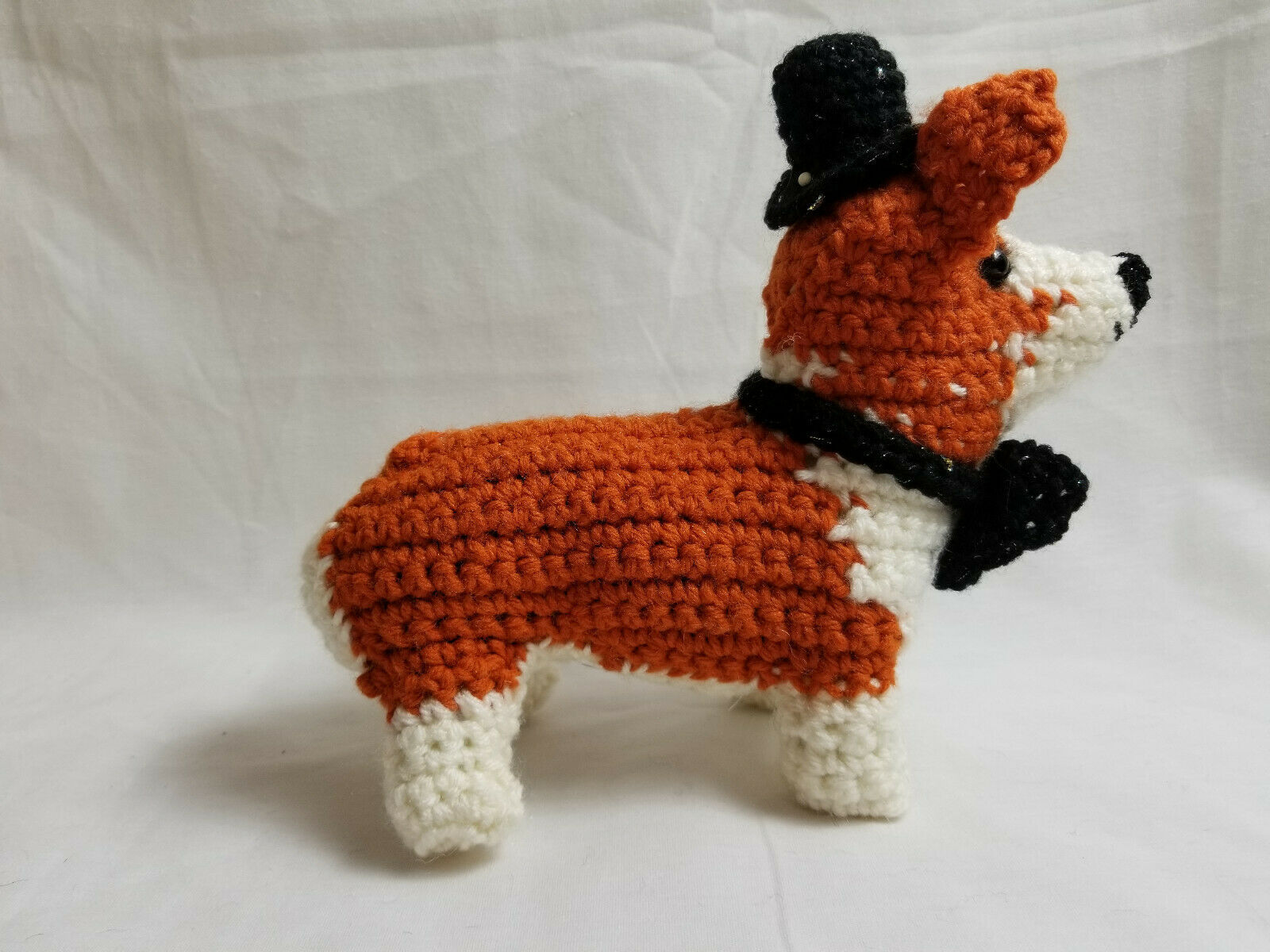 Primary image for Amigurumi Pembroke Welsh Corgi Breed Puppy Dog Crochet Handmade Figurines Bren