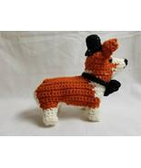 Amigurumi Pembroke Welsh Corgi Breed Puppy Dog Crochet Handmade Figurine... - $39.95