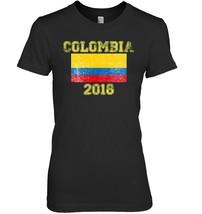 Colombia 2018 Football Soccer Fan T Shirt - $19.99
