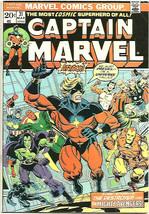 Captain Marvel #31 THANOS JIM STARLIN ART & STORY 1974 Milgrom 1st Marve... - $34.74