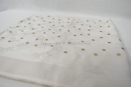 Coach F24190 Horse And Carriage Foil Star Oblong Scarf in Chalk. Cream &... - $169.00