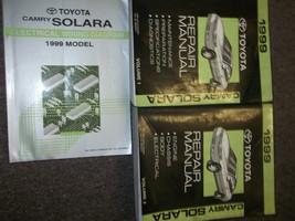 1999 Toyota Camry Solara Service Shop Reparatur Manuell Set Fabrik W Wiring - $187.87