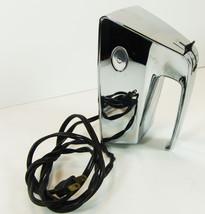 Chrome  Vintage Dormeyer Hand Mixer no Beaters Model HM 8 Works! - $29.64