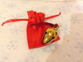 Polar Brass Acorn Two Chamber tone sleigh Bell express fm elf works lane w flaws