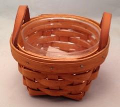Longaberger Booking Thyme Basket w/ Protector  - $19.55